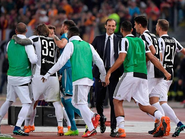 Allegri clinched a fourth successive Serie A title last weekend (AFP)