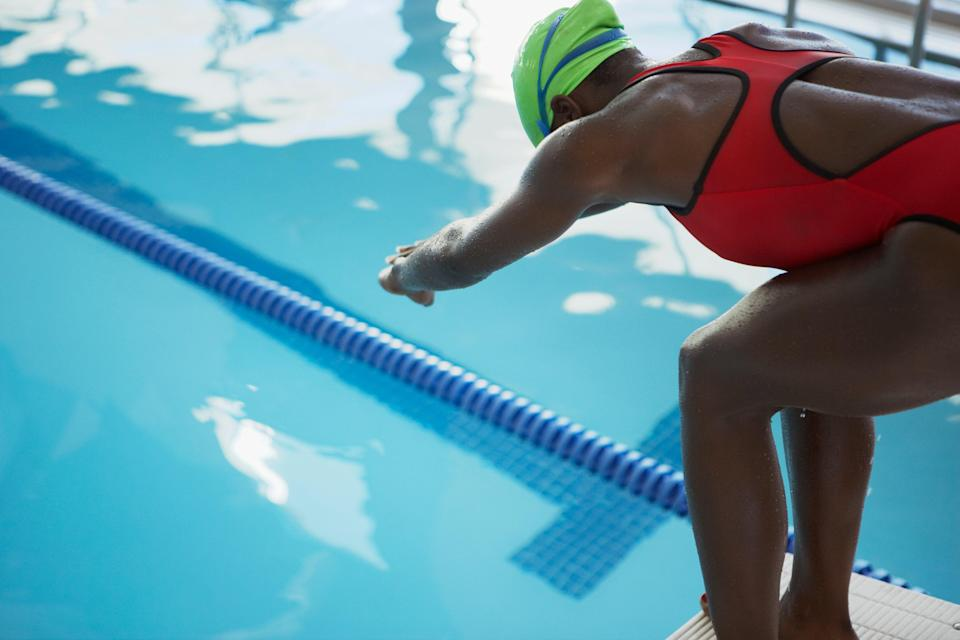 A Black-owned swimming cap brand created for natural hair has been denied certification for use by athletes at the Olympics (Getty Images)