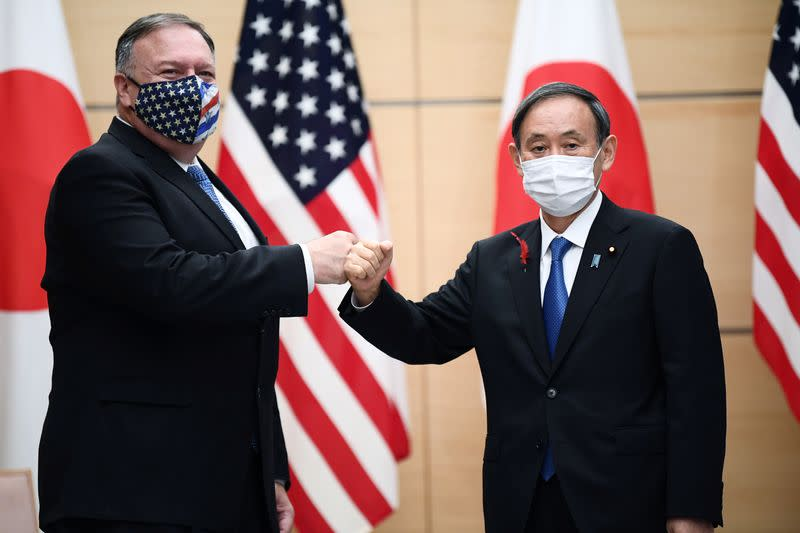 Pompeo uses Tokyo visit to slam China, seek Asian allies' support