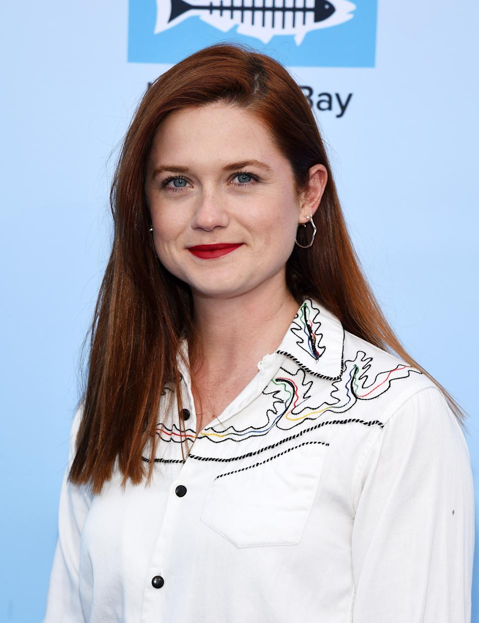 SANTA MONICA, CALIFORNIA - MAY 23: Actress Bonnie Wright arrives at Heal The Bay's Bring Back The Beach Annual Awards Gala at Jonathan Beach Club on May 23, 2019 in Santa Monica, California. (Photo by Amanda Edwards/Getty Images)