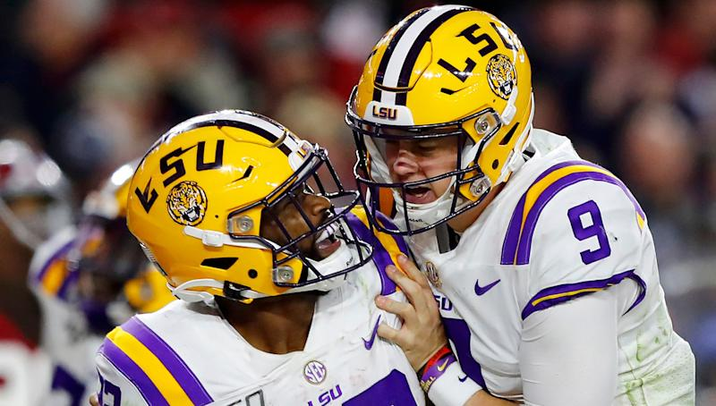 The NFL rookie of the year will be a former LSU player, but not Joe Burrow