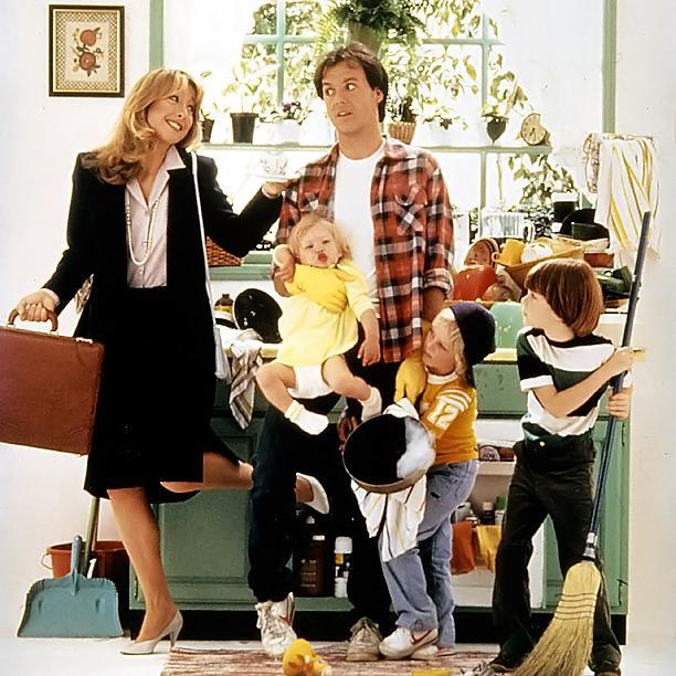 The idea of a stay-at-home dad in the U.S. has always been portrayed as quaint. (Photo: MR. MOM (1983))