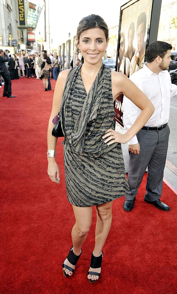 "<a href=""http://movies.yahoo.com/movie/contributor/1808521758"">Jamie-Lynn Sigler</a> at the Los Angeles premiere of <a href=""http://movies.yahoo.com/movie/1810044687/info"">The Hangover</a> - 06/02/2009"