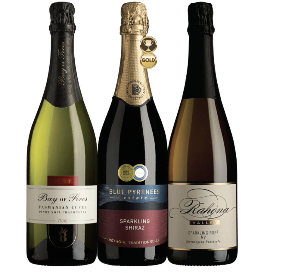 All that Sparkles 3 pack, $70 from The Wine Selectors