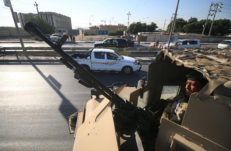 A suicide attack targeting a political party headquarters in western Iraq has killed four people and injured seven others, including a candidate in polls set for May, officials said