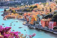 """<p><strong>Population:</strong> 5,112</p> <p>Located along the <a href=""""https://www.cntraveler.com/gallery/12-photos-that-will-make-you-want-to-visit-the-south-of-france?mbid=synd_yahoo_rss"""" rel=""""nofollow noopener"""" target=""""_blank"""" data-ylk=""""slk:Cote d'Azur"""" class=""""link rapid-noclick-resp"""">Cote d'Azur</a>, Villefranche-sur-Mer is the quiet fishing village summer dreams are made of. Spend lazy afternoons sipping coffee and enjoying the ocean breeze, and make sure to stop by Chapelle St-Pierre, a small 14th-century chapel on the Quai Corbet. While the pink exterior is charming enough, it's the church's interior that will wow you: The walls are covered with vivid, mystical frescoes painted by Jean Cocteau, the prolific French artist who spent many summers in Villefranche-sur-Mer.</p>"""