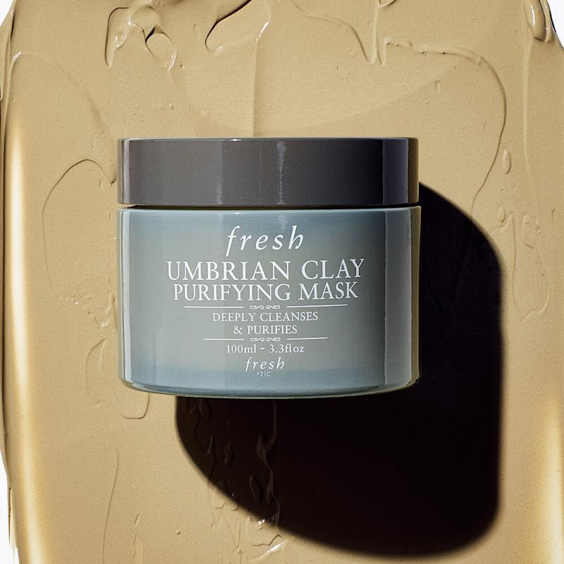 Umbrian Clay Purifying Mask from Fresh Beauty.
