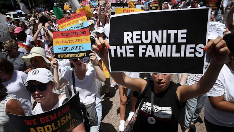 Families Belong Together rally in Denver, Colorado