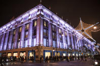 """<p>Arguably the biggest Christmas switch-on in London, <a rel=""""nofollow noopener"""" href=""""https://www.oxfordstreet.co.uk/christmas-lights-switch-show/"""" target=""""_blank"""" data-ylk=""""slk:Oxford Street"""" class=""""link rapid-noclick-resp"""">Oxford Street</a> will be turning on its 1,778 lights on November 7. Inspired by falling snowflakes, Rita Ora will be pressing the official button. The event is expected to attract over one million people so be prepared. From 5pm outside Park House. </p>"""