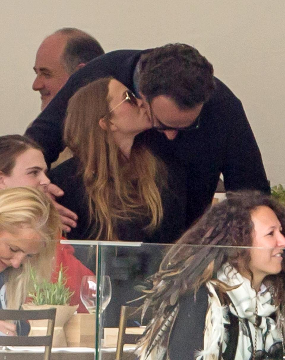 Mary-Kate Olsen and Olivier Sarkozy during Madrid-Longines Champions, the International Global Champions Tour at Club de Campo Villa de Madrid on May 18, 2019 in Madrid, Spain.