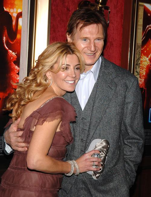 Liam Neeson Reveals Death Pact With Wife Natasha Richardson