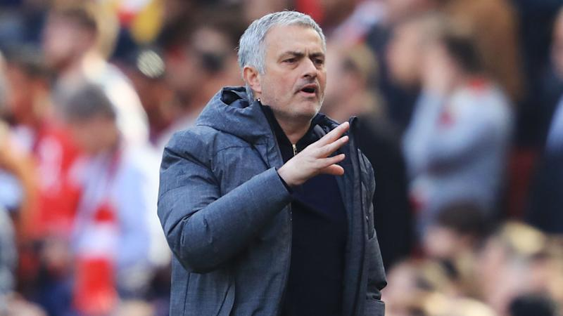 Jose Mourinho reacts to Manchester United's 1-1 draw over Celta Vigo