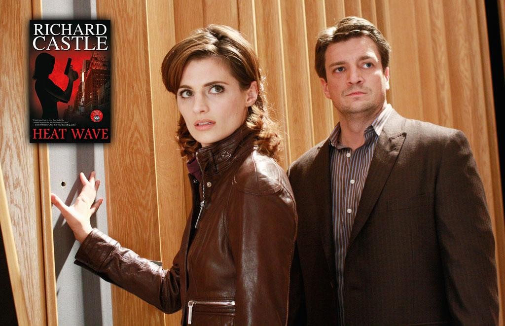 """""""Heat Wave"""" by Richard Castle: C'mon, admit it — you're dying to read an actual Richard Castle crime novel. In one of TV's more delightful merchandising moves, the trashy novel Castle had been writing all season starring his partner Kate Beckett (or, as the novel creatively dubs her, """"Nikki Heat"""") can be yours to giggle over in between commercial breaks of your favorite procedural. // <a href=""""http://shopping.yahoo.com/p:Heat Wave: Library Edition:3006491967"""" rel=""""nofollow"""">Buy Now</a> // Price: $19.79- $23.39 // <a href=""""http://www.televisionwithoutpity.com/show/movies_without_pity/holiday_guide_2009_best_tvmovi.php"""" rel=""""nofollow"""">Source: TWoP</a>"""