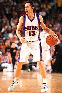 Steve Nash and the Suns have averaged 105.8 points during the playoffs