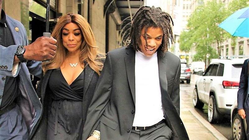 Wendy Williams Steps Out With Son Kevin Hunter Jr. After His Arrest