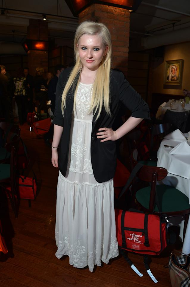NEW YORK, NY - APRIL 18:  Actress Abigail Breslin attends the Juror Welcome Lunch during the 2013 Tribeca Film Festival at Tribeca Grill Loft on April 18, 2013 in New York City.  (Photo by Mike Coppola/Getty Images)