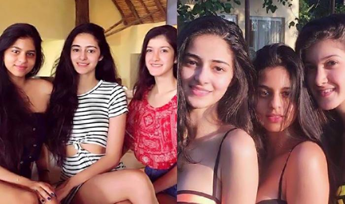 <p>Shah Rukh Khan's daughter, Suhana Khan, is currently pursuing her education abroad, but whenever she's in India, she takes time out for her best gal pals–Ananya Pandey (Chunky Pandey's daughter) and Shanaya Kapoor (Sanjay Kapoor's daughter). The trio is friends since childhood. They are often seen hanging out with one another. Earlier, this year, the BFFs were seen soaking in some sun in their bikinis, the pics of which went viral on the internet. The three ladies were seen flaunting their neon bikinis of different colours, with a hint of black, in the pics that went viral, while enjoying each other's company. </p>