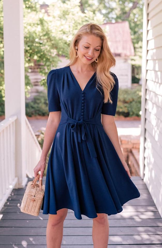 "<p>You can style this <a href=""https://www.popsugar.com/buy/Gal-Meets-Glam-Collection-Bella-Button-Front-Fit-amp-Flare-Dress-487549?p_name=Gal%20Meets%20Glam%20Collection%20Bella%20Button%20Front%20Fit%20%26amp%3B%20Flare%20Dress&retailer=shop.nordstrom.com&pid=487549&price=158&evar1=fab%3Aus&evar9=45940111&evar98=https%3A%2F%2Fwww.popsugar.com%2Ffashion%2Fphoto-gallery%2F45940111%2Fimage%2F46577953%2FGal-Meets-Glam-Collection-Bella-Button-Front-Fit-Flare-Dress&list1=shopping%2Cnordstrom%2Cdresses%2Cspring%2Cspring%20fashion%2Cwedding%20guest%20dresses%2Cweddings&prop13=mobile&pdata=1"" rel=""nofollow"" data-shoppable-link=""1"" target=""_blank"" class=""ga-track"" data-ga-category=""Related"" data-ga-label=""https://shop.nordstrom.com/s/gal-meets-glam-collection-bella-button-front-fit-flare-dress/5383087?origin=category-personalizedsort&amp;breadcrumb=Home%2FWomen%2FShop%20by%20Occasion%2FWedding%20Guest&amp;color=moon%20lake"" data-ga-action=""In-Line Links"">Gal Meets Glam Collection Bella Button Front Fit &amp; Flare Dress</a> ($158) so many ways.</p>"