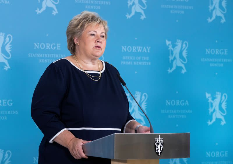 Norway may have to tighten COVID-19 restrictions, PM says