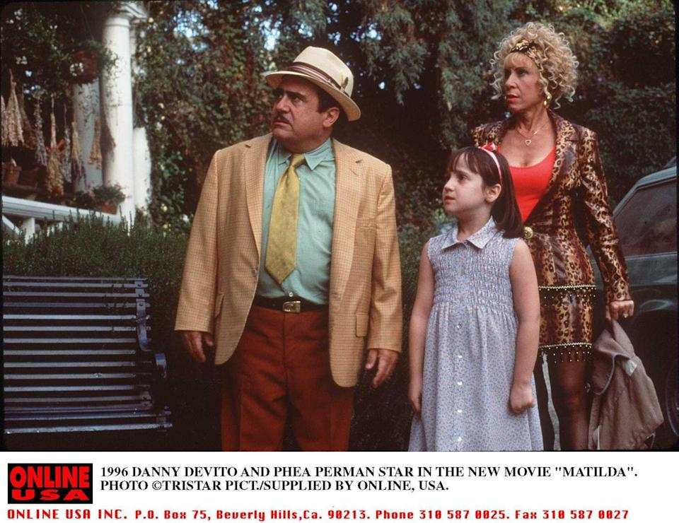 <p>Among the many films Danny DeVito has both directed and starred in, <em>Matilda</em> remains a fan favorite. The famous comedian portrayed one of the main antagonists in the 1996 remake of Roald Dahl's classic children's novel.</p>