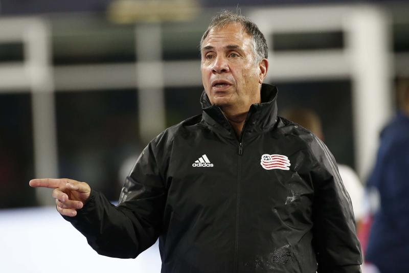 New England Revolution coach Bruce Arena. (Greg M. Cooper/USA Today)