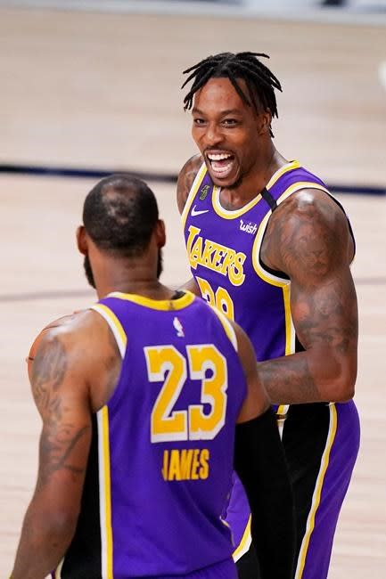 Rondo, Howard back for another NBA Finals shot with Lakers