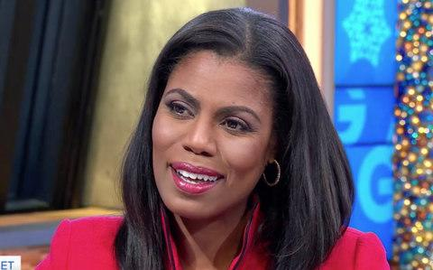 Omarosa Manigault, the White House aide and former Apprentice star  - Credit: GMA/abc News