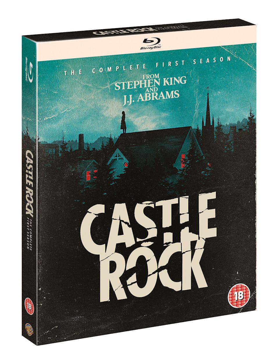 Castle Rock: The Complete First Season arrives on DVD, Blu-ray and Digital Download on 2 September. (Warner Bros. Home Entertainment Inc.)