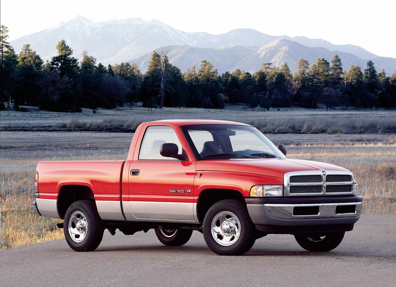 """<p>""""Grab life by the horns."""" That was Dodge's slogan for this era of pickup, but owners should not forget to grab their keys when they leave the vehicle. Ram fans will be happy to hear that even though 11,226 total Ram pickups from all model years were stolen in 2018, that's 776 fewer than in 2017, when the 2001 Dodge Ram was the eighth most stolen vehicle.</p>"""