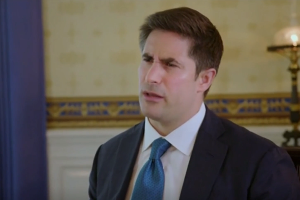 Political correspondent Jonathan Swan appeared to be confused by Donald Trump's statements during the Axios interview: Axios