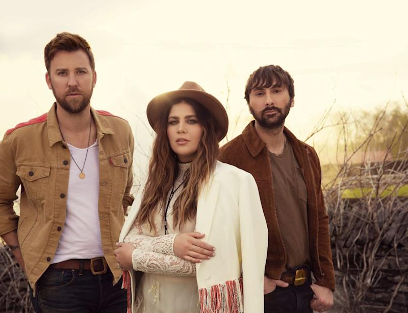 Charles Kelley, Hillary Scott and Dave Haywood of Lady Antebellum | Dove Shore