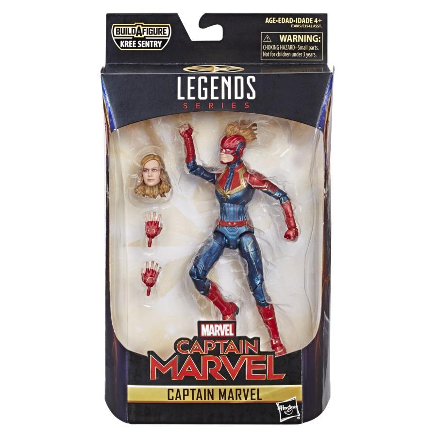 The Marvel Legends action figure, with swappable parts, will sell for $19.99. (Photo: Hasbro)