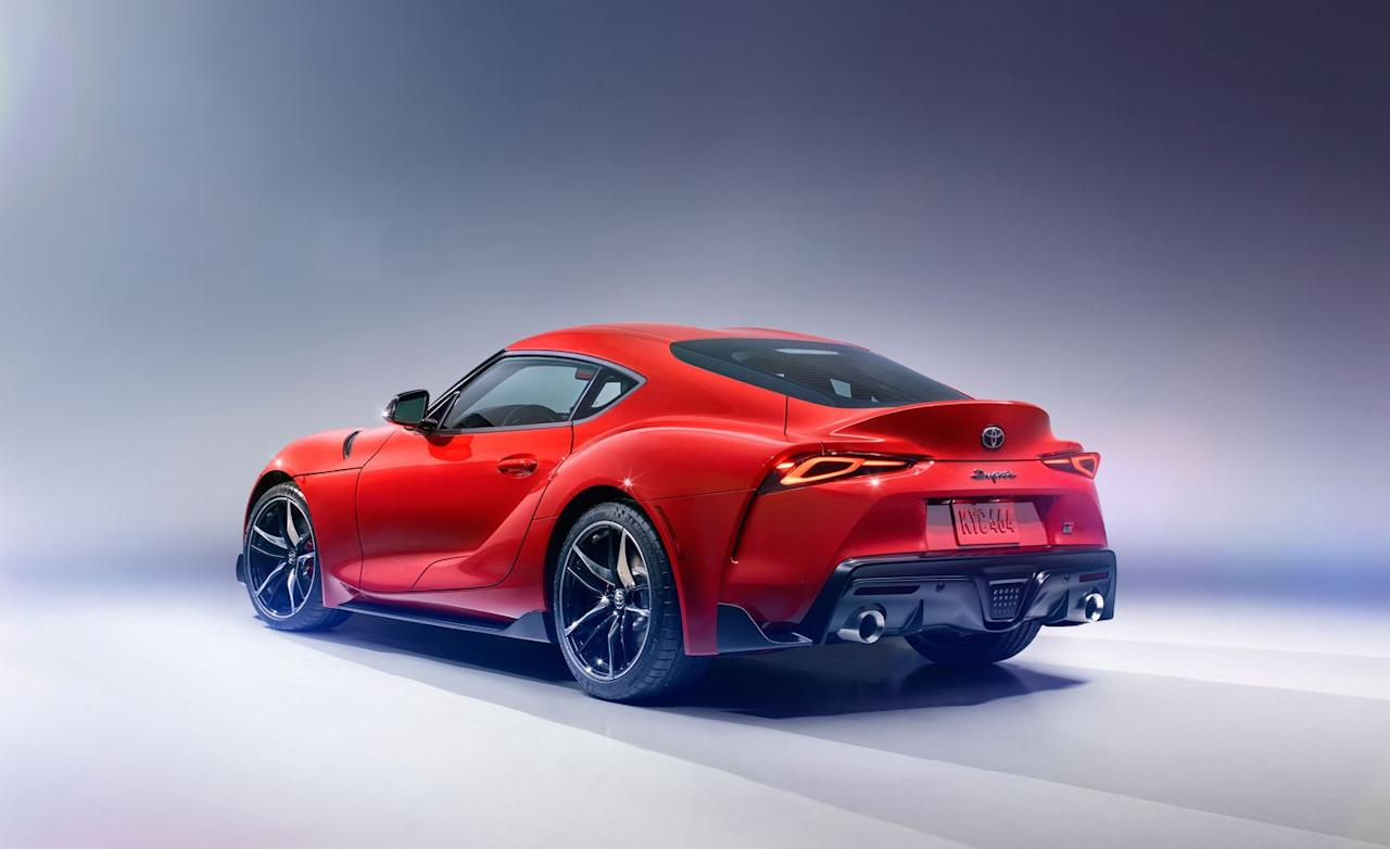 <p>Yes, under a skin based on the FT-1 concept car from 2014 beats a turbocharged 3.0-liter straight-six just as its fast and furious forefather had. Beyond that, well . . .</p>