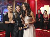 <p>Things in the ballroom—and across the country—were tense during season 7. When Bristol and Mark Ballas made it into the final three, people complained that the show was rigged, as her scores didn't reflect her position in the competition. On the other side, supporters of Bristol were upset that she ONLY came in third and lost the trophy to actress Jennifer Grey. Either way you slice it, the political motivation of Bristol's tenure on the show was awkward for all who were involved. </p>