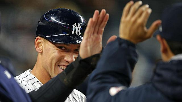 Aaron Judge, the biggest of the Baby Bombers, does not hit cheap home runs.