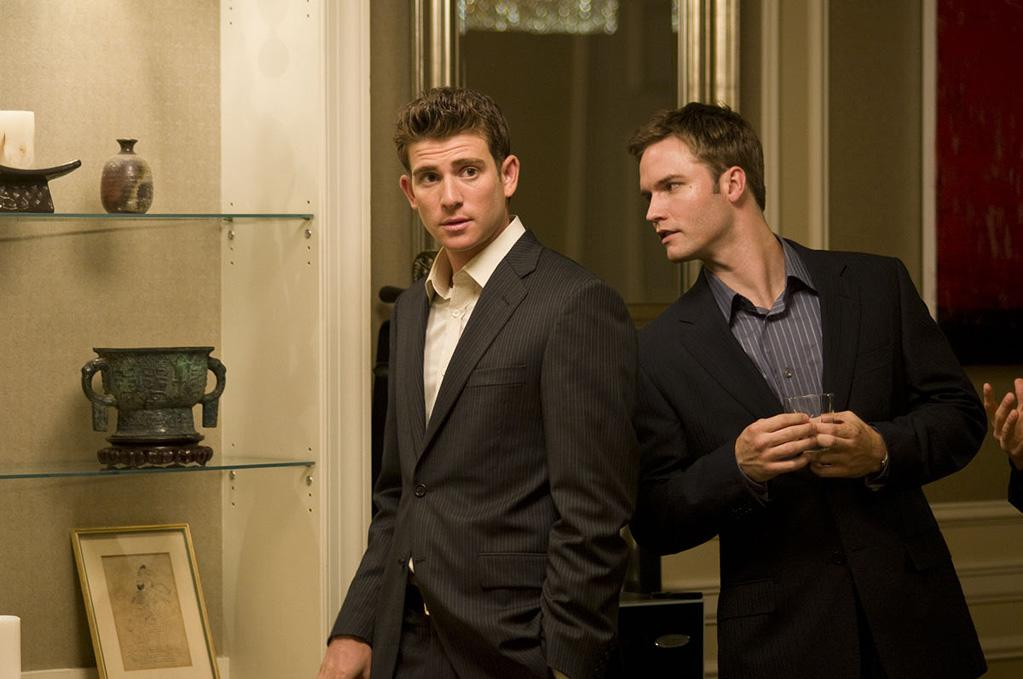 <p>Bryan Greenberg and Scott Porter in Roadside Attractions' The Good Guy - 2010</p>