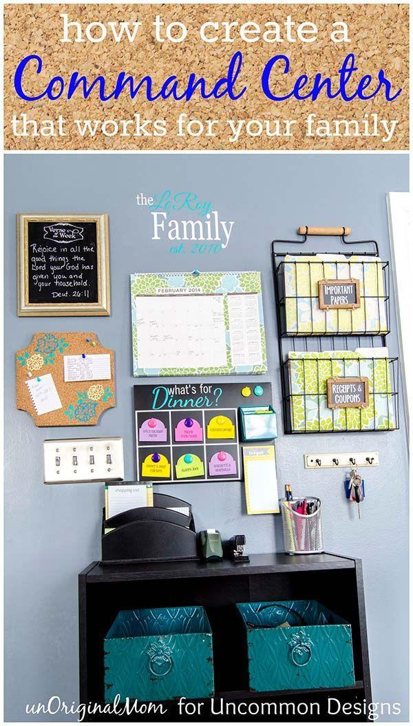 """<p>If you family members are constantly misplacing papers and forgetting important dates throughout the school year, then you need to set up this command center, which provides a place for everything.</p><p><strong><em><a href=""""https://uncommondesignsonline.com/create-command-center-works-family/"""" rel=""""nofollow noopener"""" target=""""_blank"""" data-ylk=""""slk:Get the tutorial at Uncommon Designs"""" class=""""link rapid-noclick-resp"""">Get the tutorial at Uncommon Designs</a>. </em></strong></p><p><a class=""""link rapid-noclick-resp"""" href=""""https://www.amazon.com/Stackable-Hanging-3-Tier-Organizing-Pending/dp/B088GR1H64?tag=syn-yahoo-20&ascsubtag=%5Bartid%7C10070.g.37133630%5Bsrc%7Cyahoo-us"""" rel=""""nofollow noopener"""" target=""""_blank"""" data-ylk=""""slk:SHOP HANGING FILE RACKS"""">SHOP HANGING FILE RACKS</a></p>"""