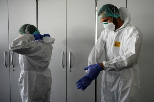 The pandemic has spurred a worldwide scramble for medical gear as doctors and nurses struggle to dole out limited stocks of face masks and life-saving ventilators