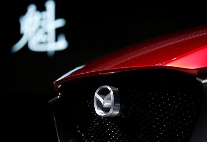 Mazda Motor presents the company's Kai Concept during media preview of the 45th Tokyo Motor Show in Tokyo