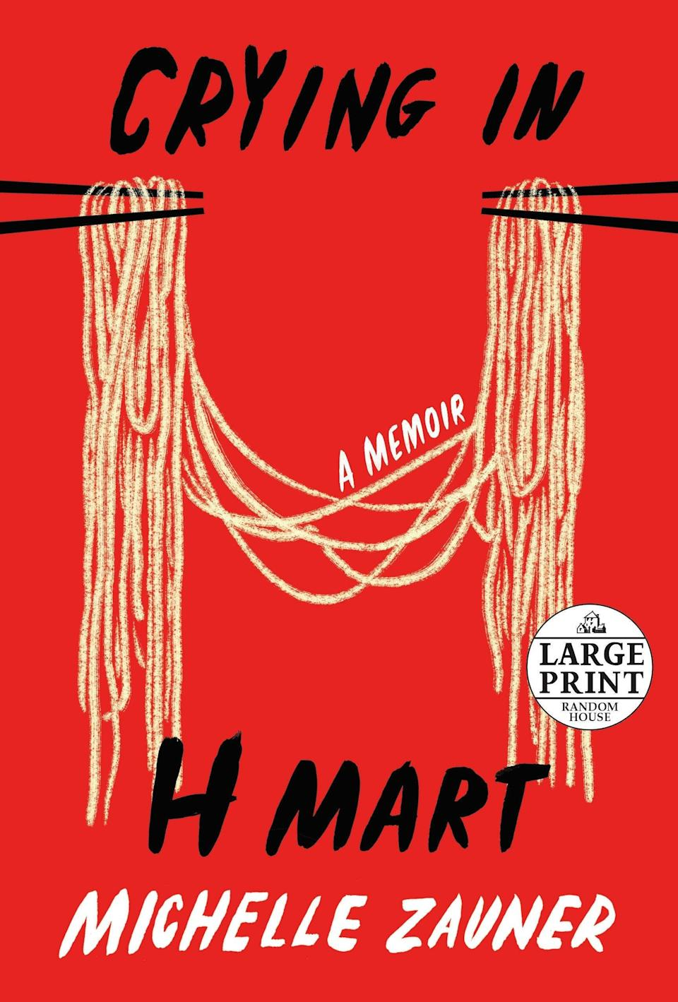 """<strong><em>Crying In H Mart </em>by Michelle Zauner</strong><br><br>Already set to become a <a href=""""https://www.hollywoodreporter.com/movies/movie-news/crying-in-h-mart-movie-1234963458/"""" rel=""""nofollow noopener"""" target=""""_blank"""" data-ylk=""""slk:major motion picture"""" class=""""link rapid-noclick-resp"""">major motion picture</a>, <em>Crying in H Mart</em> charts the emotional life story of Michelle Zauner (from the band Japanese Breakfast). Centring around her experiences as a Korean American woman, the memoir is a perfect mishmash of commentary on everything from the excruciating nature of puberty to the story of how she met her husband. But it's the experiences of food that bind the book together, chronicling the late-night cooking sessions with her mother while they visited her grandmother in Seoul. Eventually discussing her disconnection and reconnection with her Asian American identity in the wake of tragedy, this memoir is an exploration of the cherished gifts that can be gained from second cultures.<br><em><br>Available to purchase 5th August.</em><br><br><strong>Michelle Zauner</strong> Crying in H Mart, $, available at <a href=""""https://uk.bookshop.org/books/1605064150_crying-in-h-mart/9781529033779"""" rel=""""nofollow noopener"""" target=""""_blank"""" data-ylk=""""slk:bookshop.org"""" class=""""link rapid-noclick-resp"""">bookshop.org</a>"""