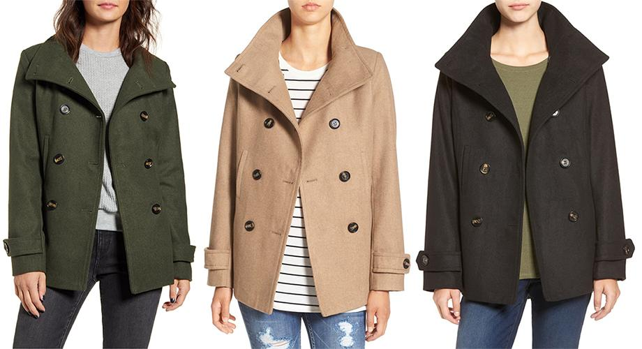 Thread & Supply Double-Breasted Peacoat. (Photo: Nordstrom)