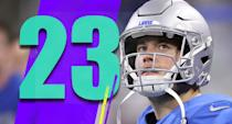 <p>The Lions' plan on Thanksgiving was strangely conservative. They basically turned Matthew Stafford into a check-down artist, and if that's the offense they want, there are many other cheaper quarterbacks capable of playing that role. (Matthew Stafford) </p>