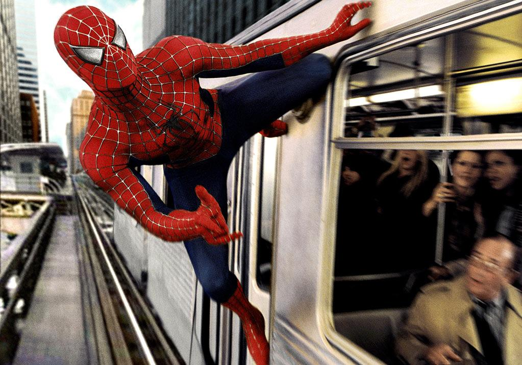 "Movie: <a href=""http://movies.yahoo.com/movie/1808398861/info"">Spider-Man 2</a>  Catastrophe: Evil eight-armed villain with grudge against public transportation.   Outcome: Spidey saves the day, clearing the way for the unfortunate ""<a href=""http://movies.yahoo.com/movie/1808496334/info"">Spider-Man 3</a>."""