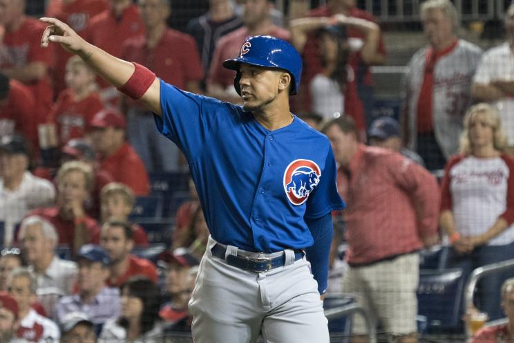 Veteran outfielder Jon Jay was a valuable contributor for the Cubs in 2017. (AP)