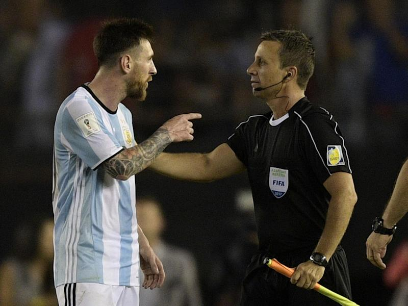 Lionel Messi admitted to saying the offensive phrase but claims he did not aim it at the official: Getty