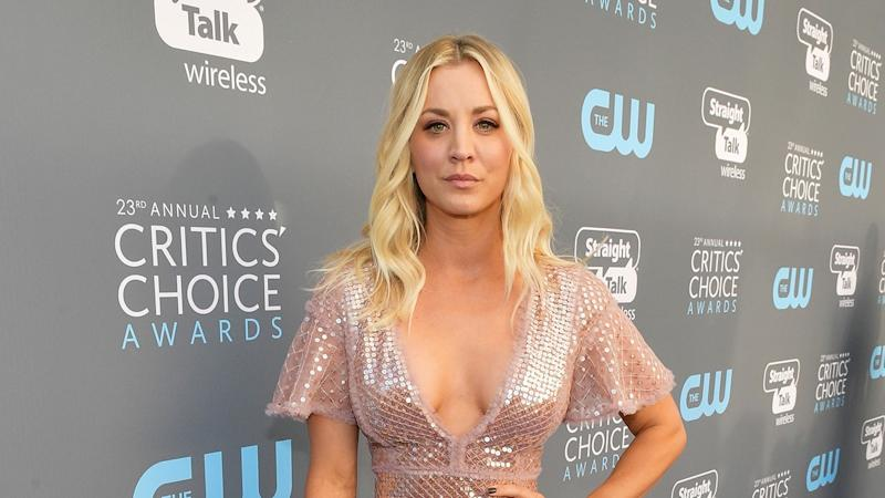 Kaley Cuoco Celebrates Pink-Themed Bachelorette Party With Lots of Dancing to Britney Spears and Beyonce