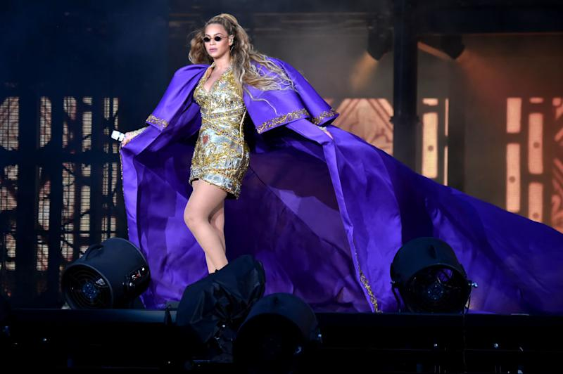 "Beyoncé and other women are the subject of DC's upcoming book ""Wonder Women of History."" (Photo: Kevin Mazur/Getty Images For Parkwood Entertainment)"