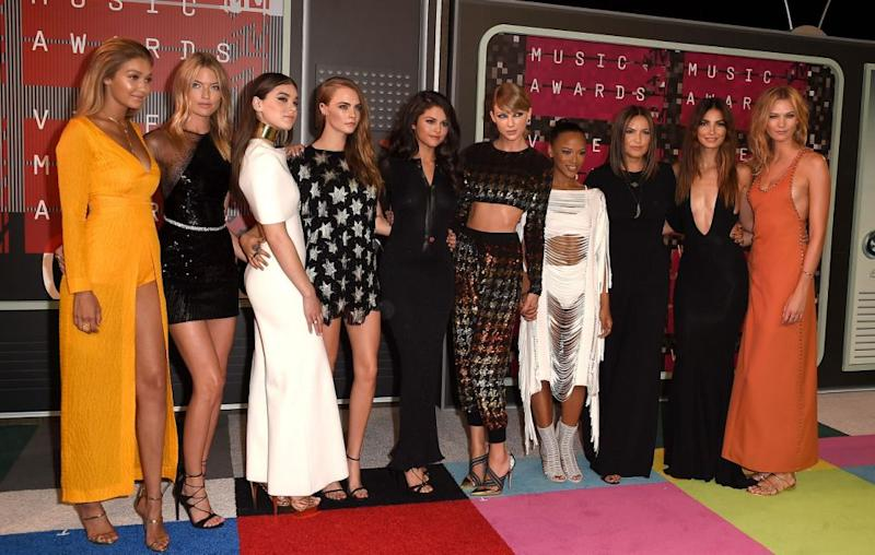 Taylor is known for his group of celebs pals called her 'squad'. Source: Getty