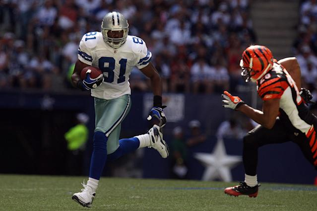 Terrell Owens won't be headed to Canton for his induction ceremony. (Getty Images)