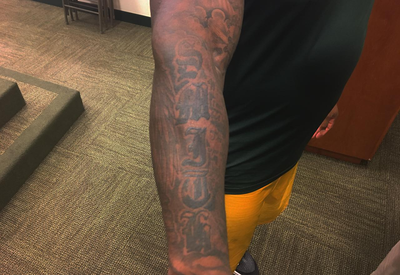 Tattoos Of The Nfl And The Stories Behind The Ink